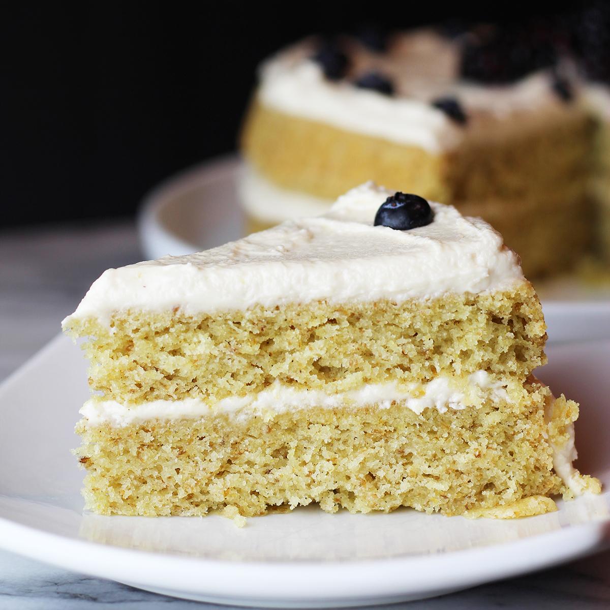 Vegan Gluten Free Vanilla Cake Recipe